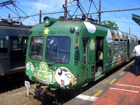 ケロロ電車1